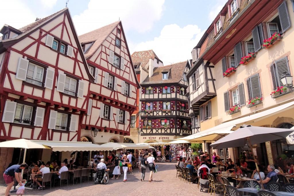 Rue des Marchands Colmar Elzas Frankrijk