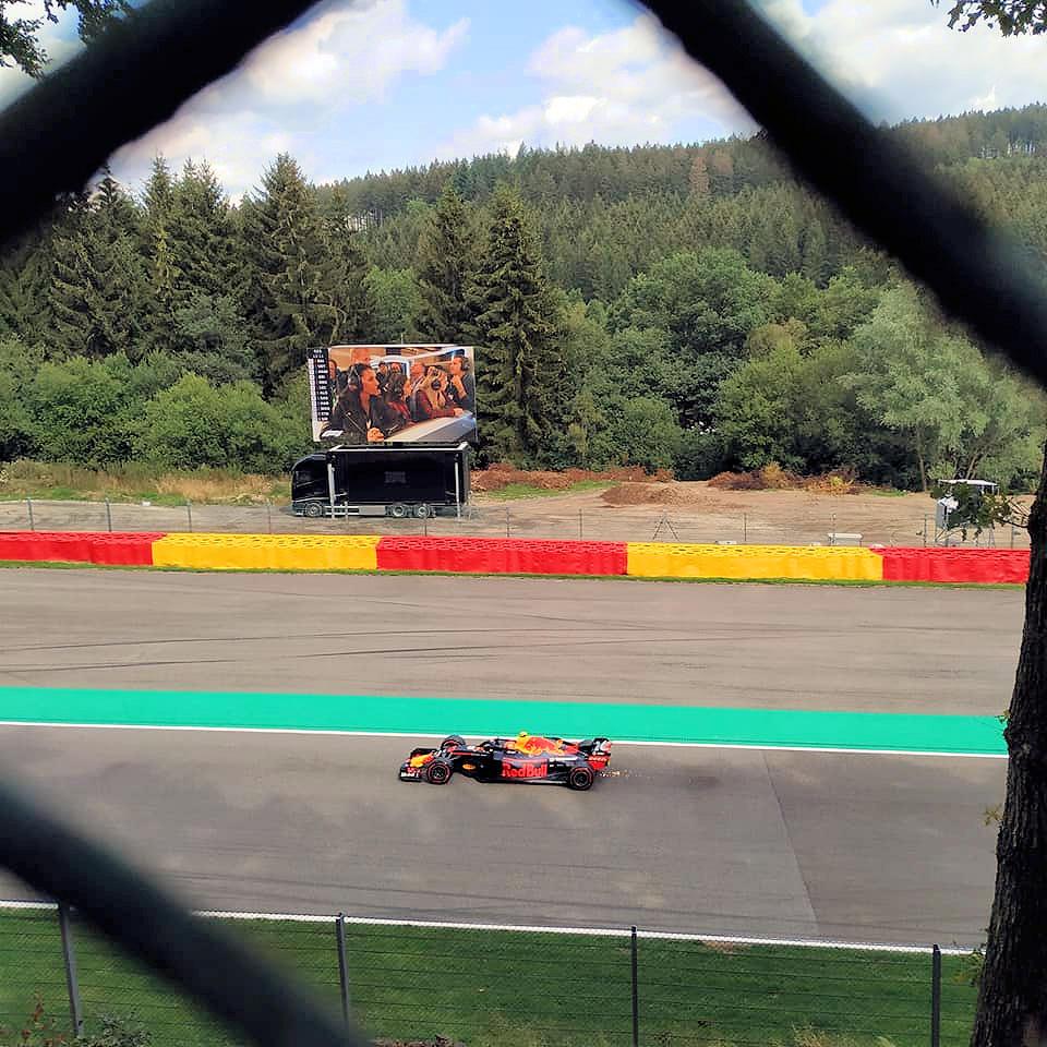 Max Verstappen GP België Ardennen Formule 1