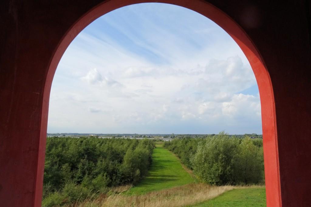 uitkijktoren natuurgebied Reiderwolde Groningen