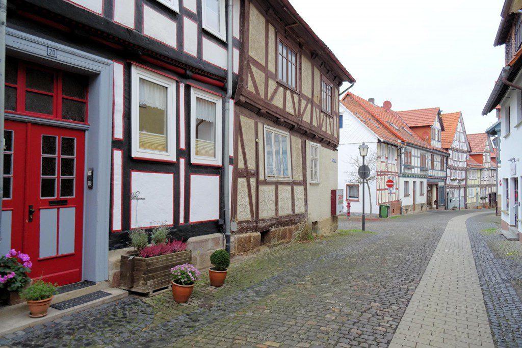 Hessische Lichtenau vakwerkhuizen