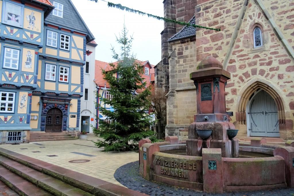 Hessishce Lichtenau marktplein