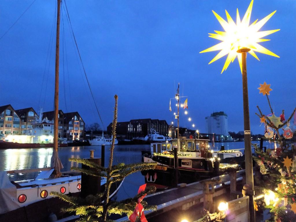 Leer haven kerstmarkt