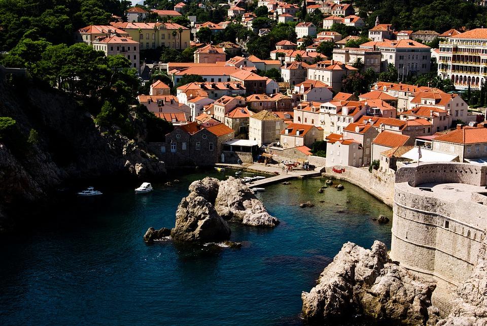 Dalmatië Kroatië zomer