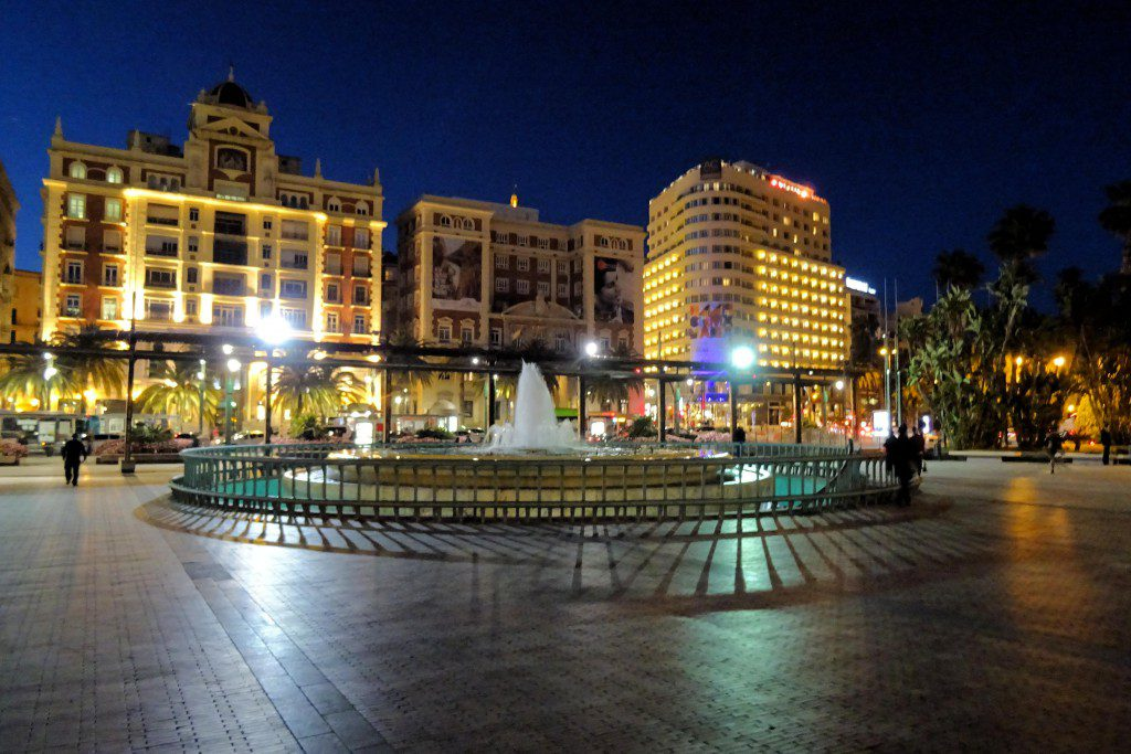 Malaga Costa del Sol Spanje
