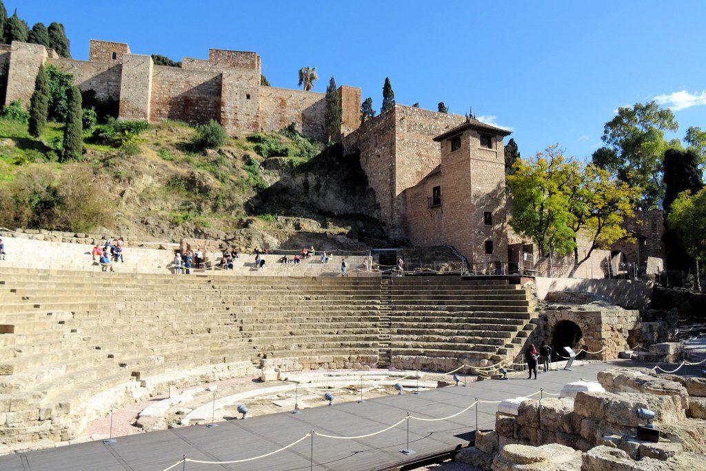 Alcazaba Malaga Coste del Sol Spanje