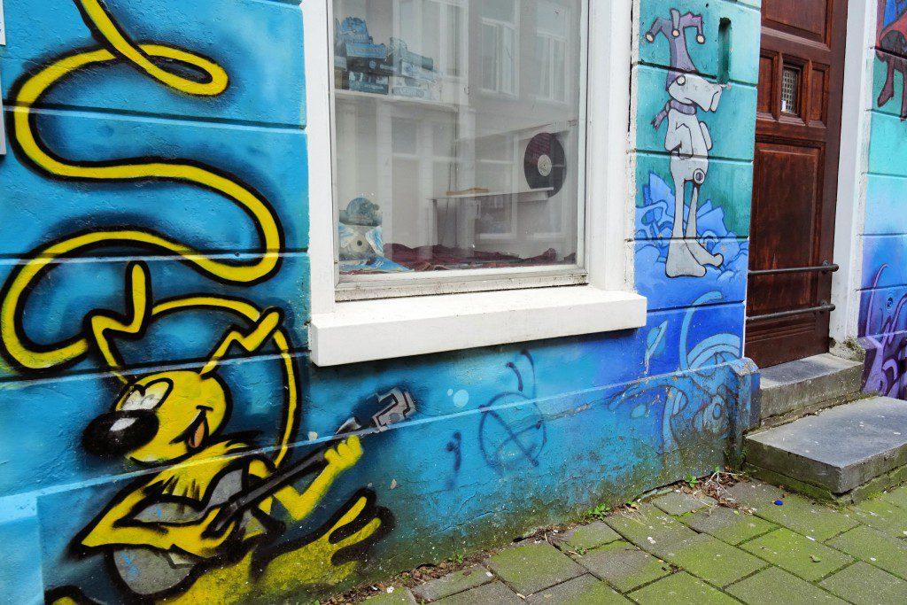 street art Pelserstraat Groningen