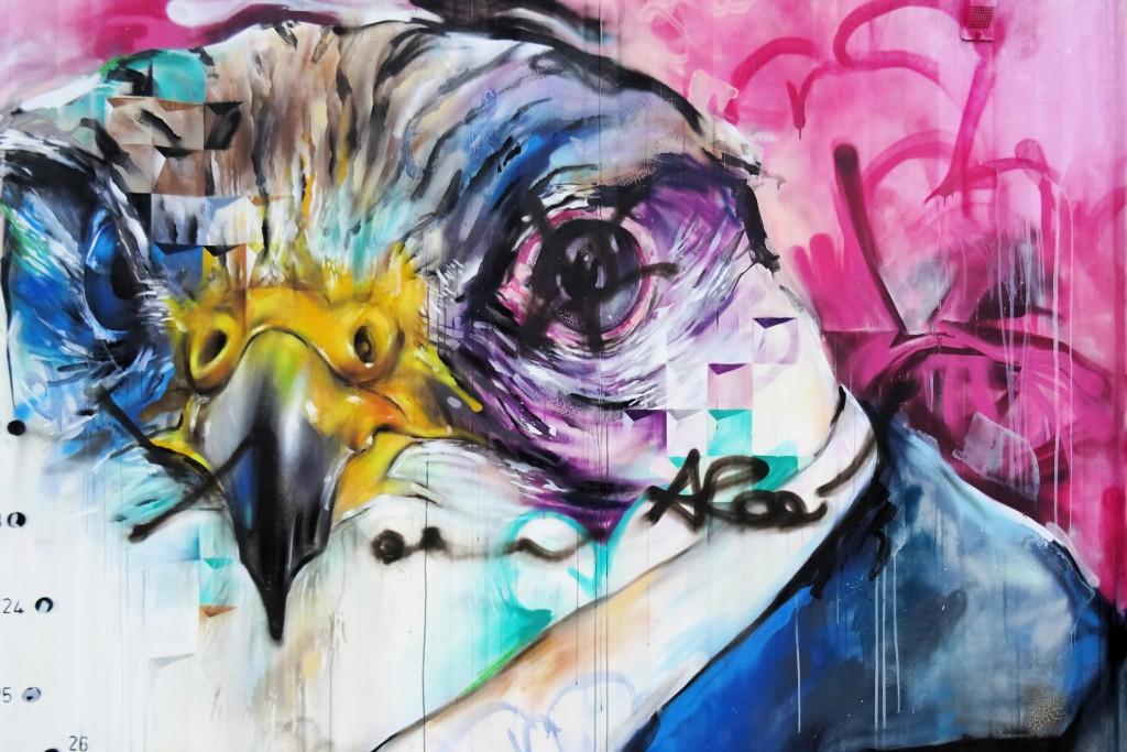 street art Ebbingekwartier Groningen