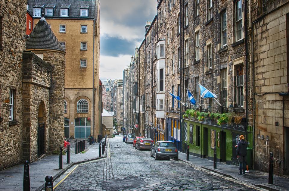 Edinburg Schotland steden
