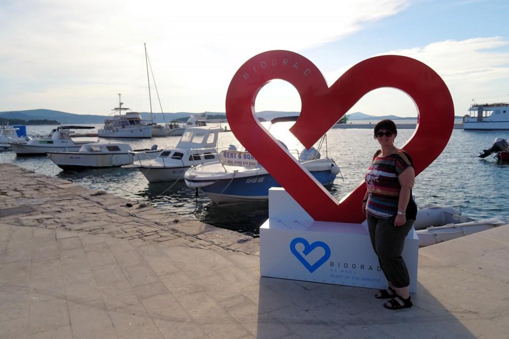 Biograd na Moru Dalmatië