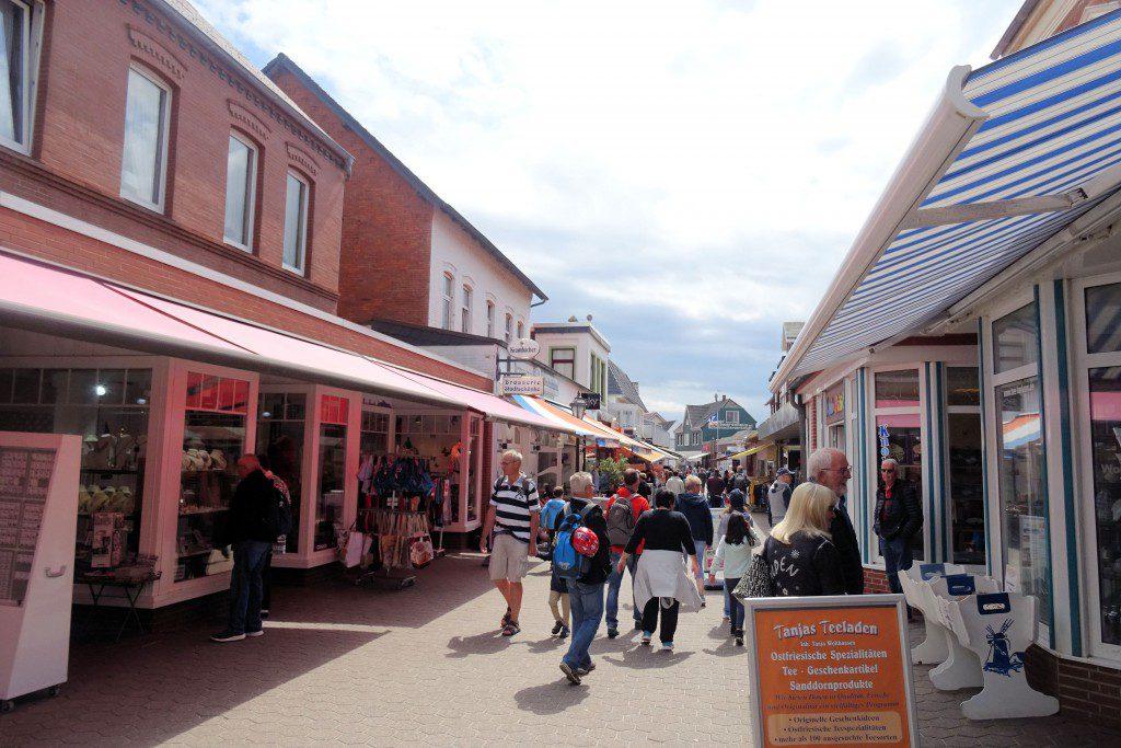 Centrum Borkum waddeneiland