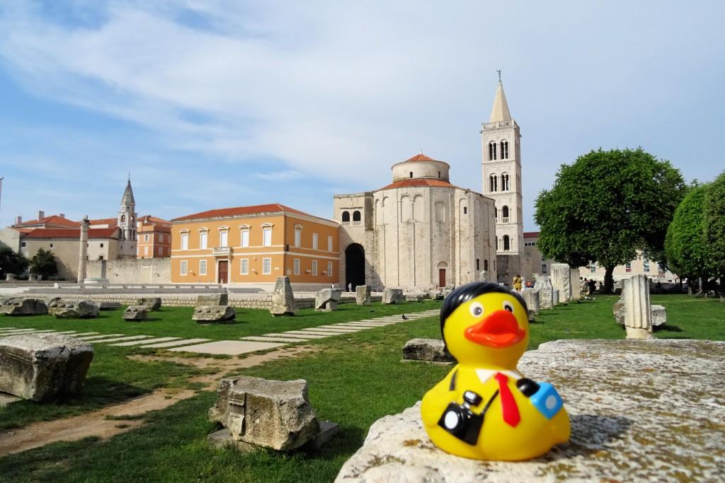 Zadar Forum Dalmatië fotografie
