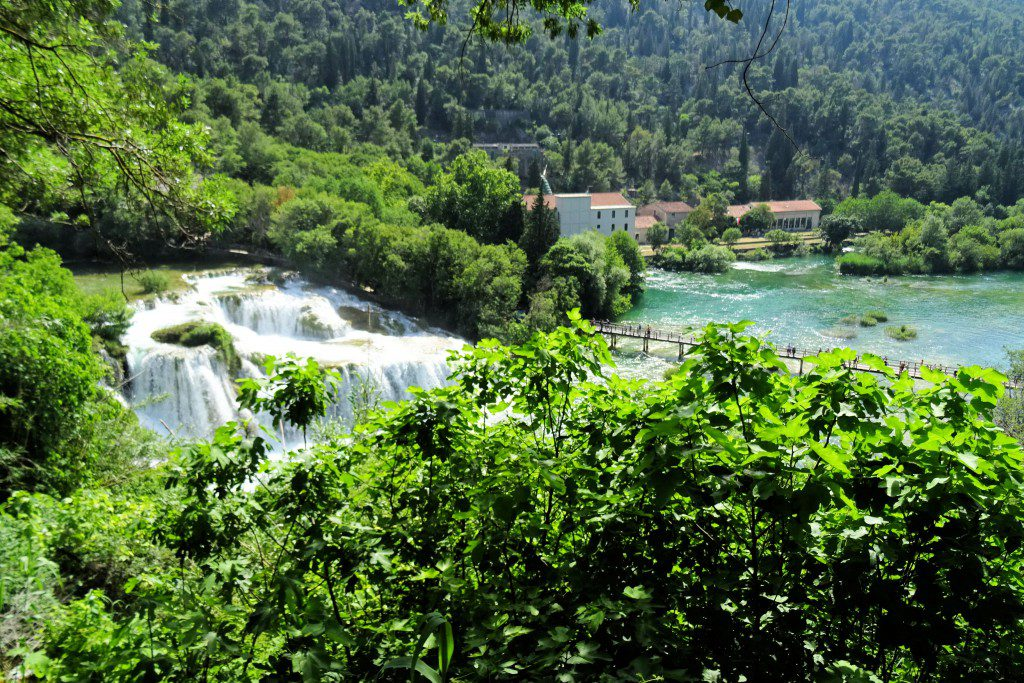 Nationaal Park Krka Kroatië