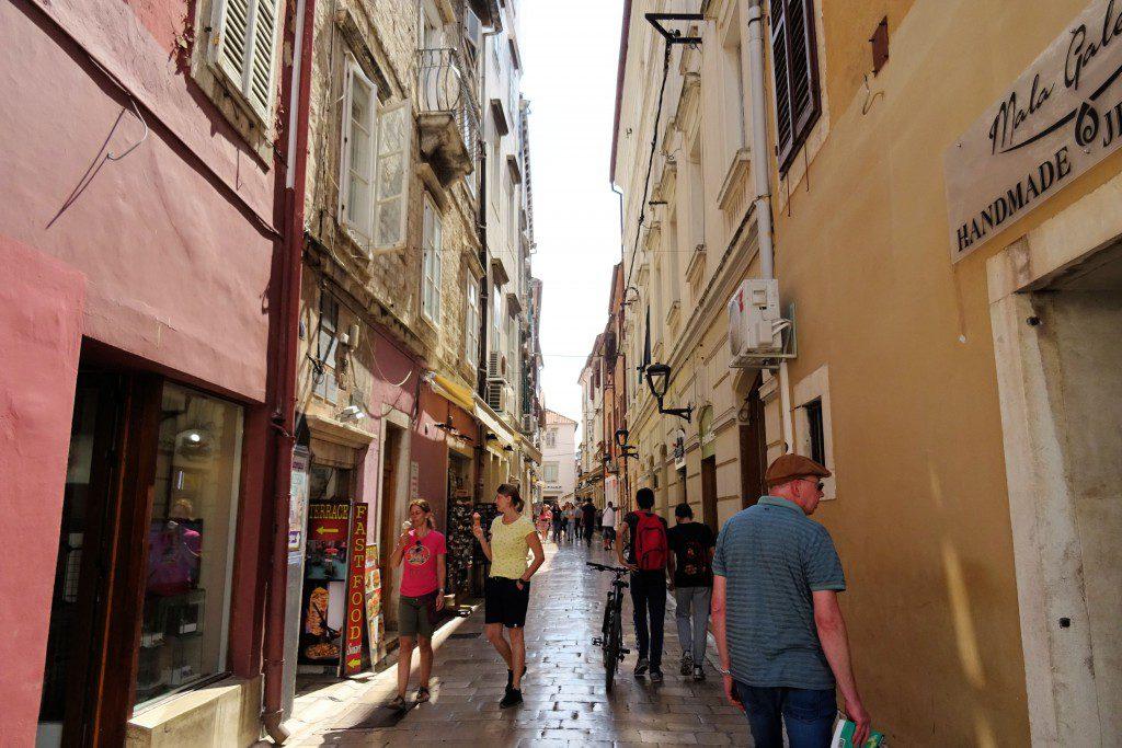 Zadar centrum