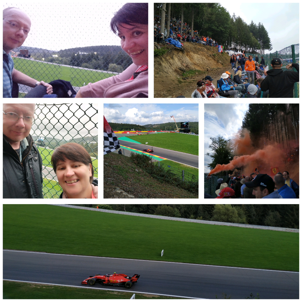 Formule 1 Ardennen september