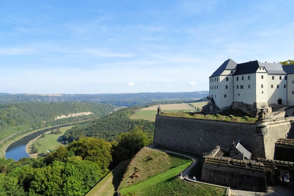 Festung Konigstein Duitsland roadtrip