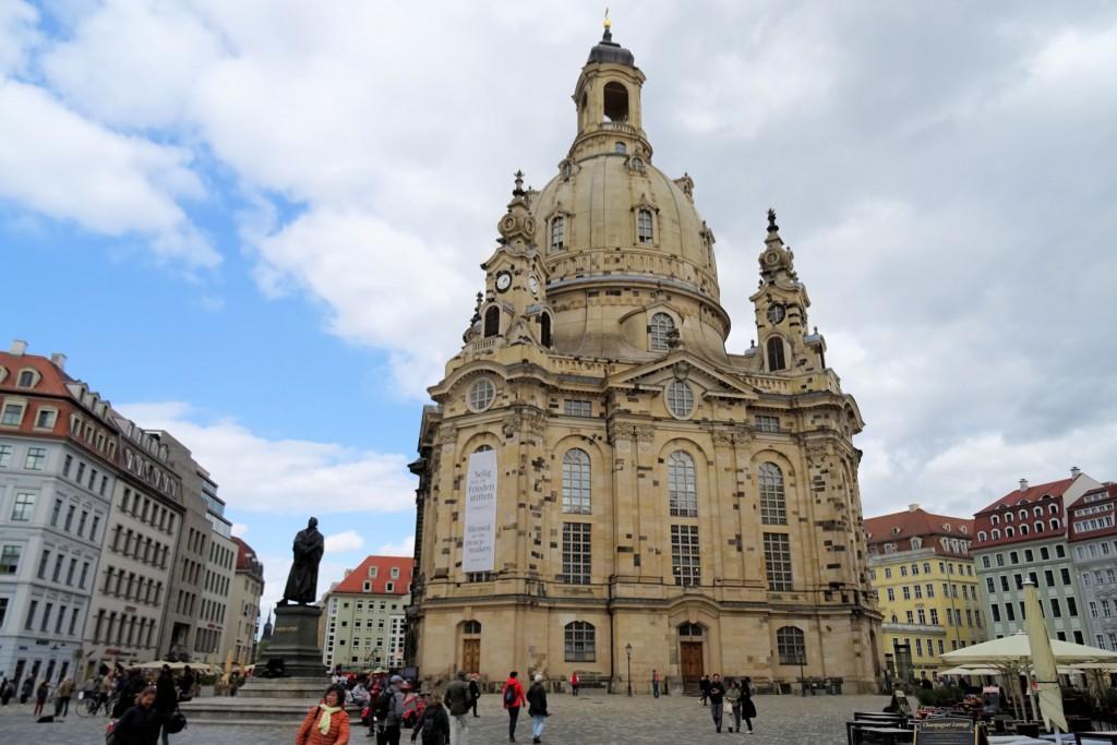 Frauenkirche Dresden Saksen