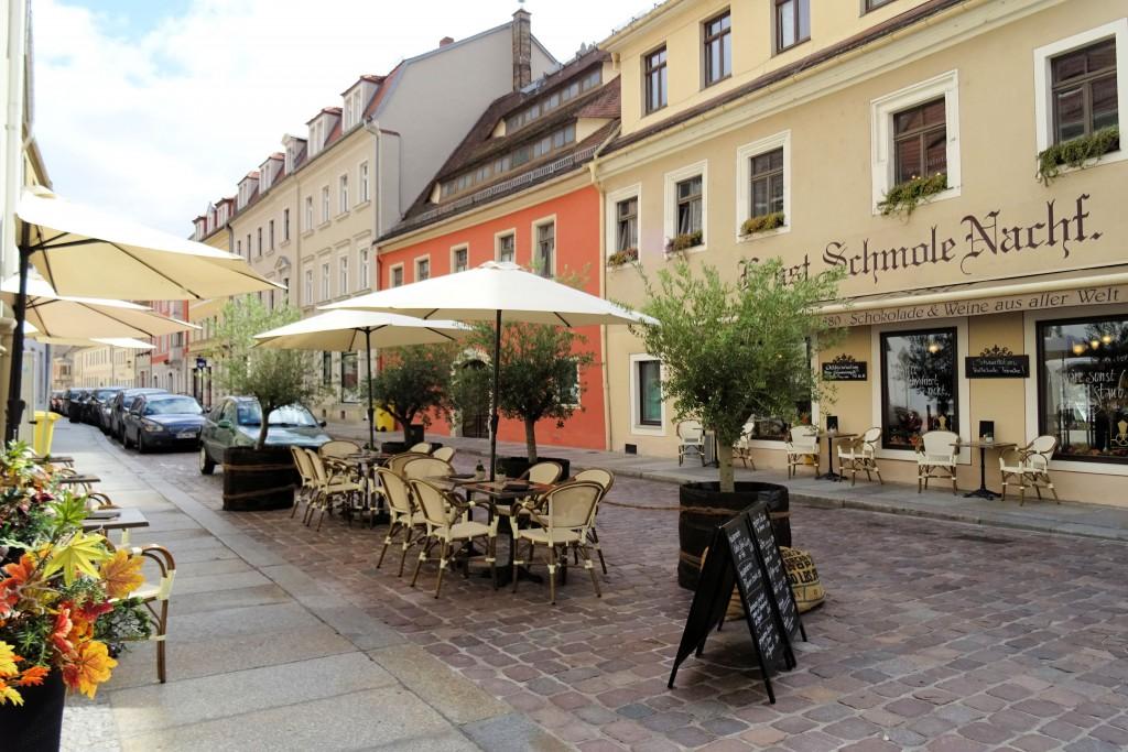Pirna centrum Saksische Schweiz