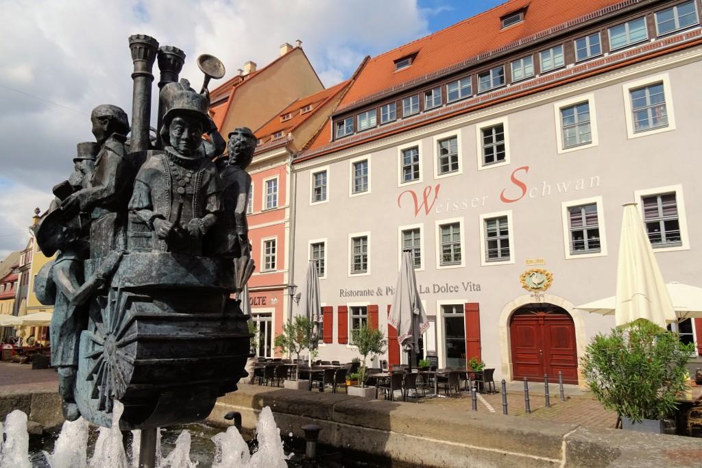 Pirna fonteinen Duitsland