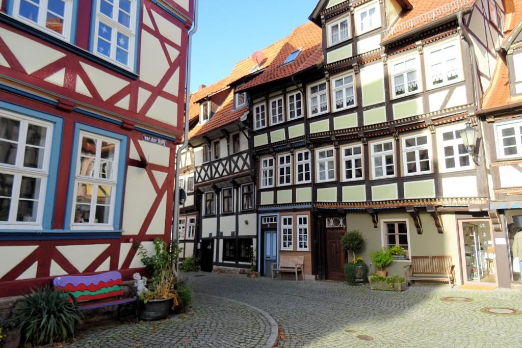 Hannover Münden vakwerkhuizen Duitsland