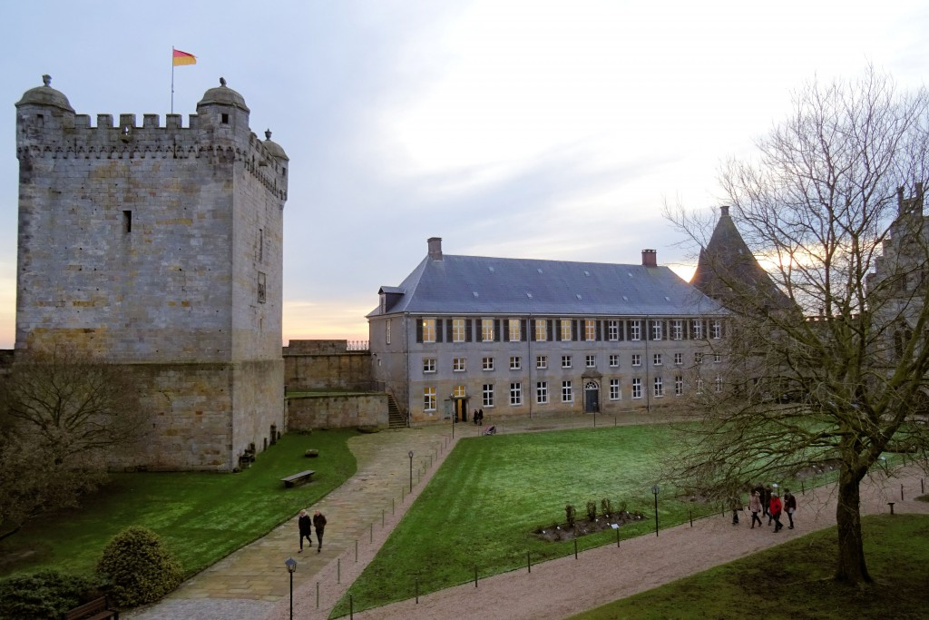 kruittoren kasteel Bad Bentheim