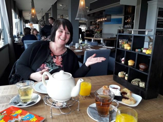 High tea Emshotel Delfzijl moment