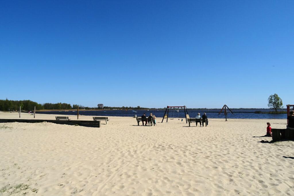 strand Meerwijck Zuidlaardermeer