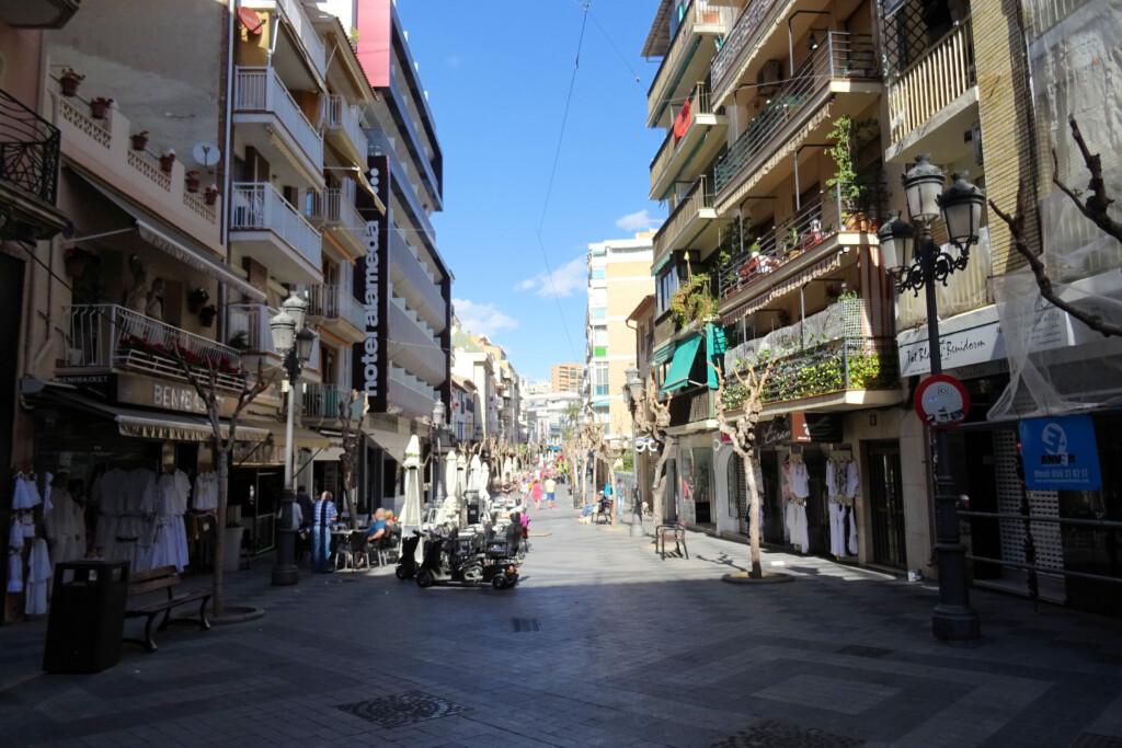 Benidorm Costa Blanca Spanje