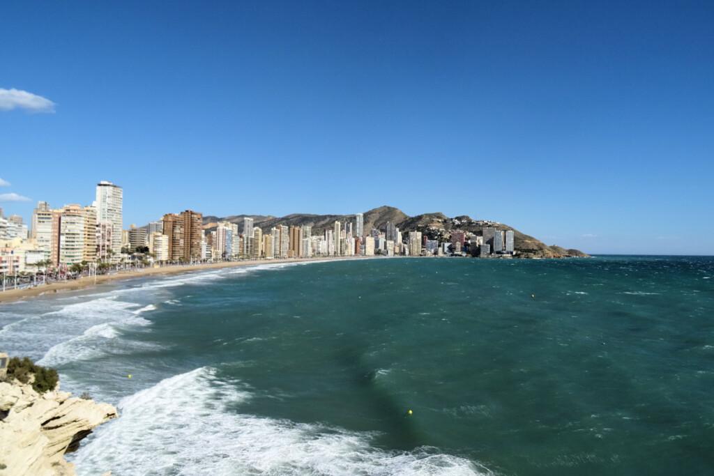 Benidorm strand Costa Blanca