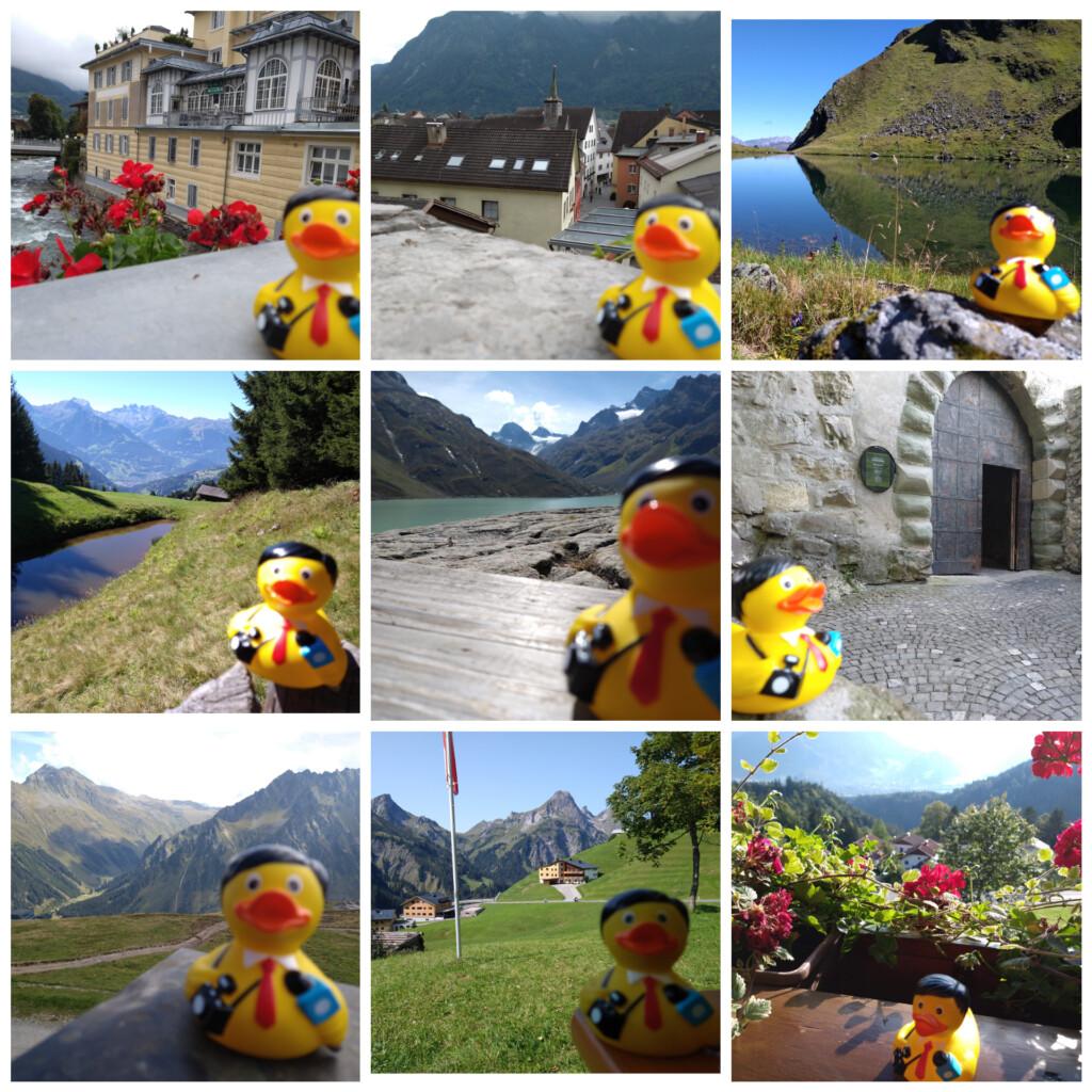 badeendjes Oostenrijk september