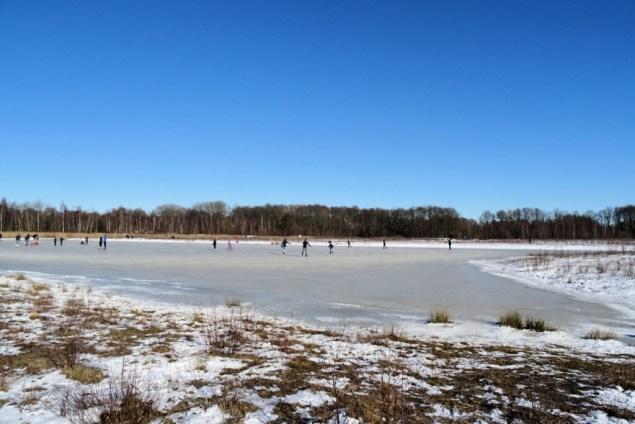 winter schaatsen De Heemtuin