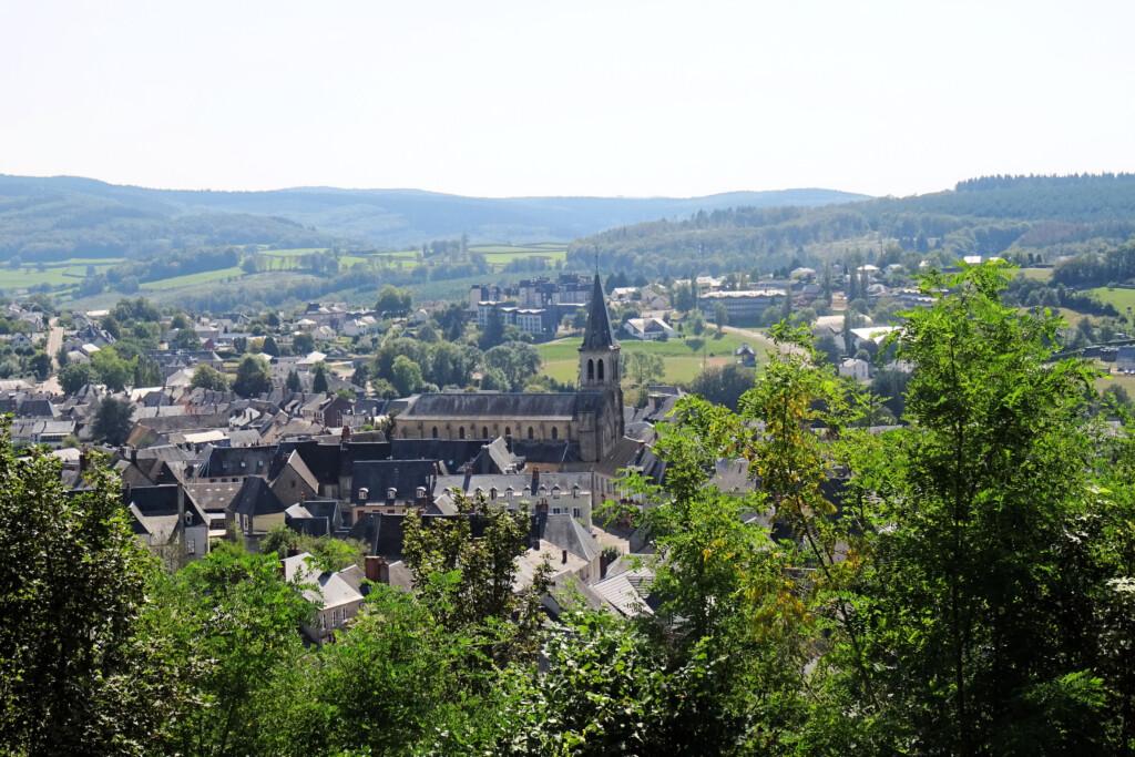 Chateau-Chinon Morvan Frankrijk