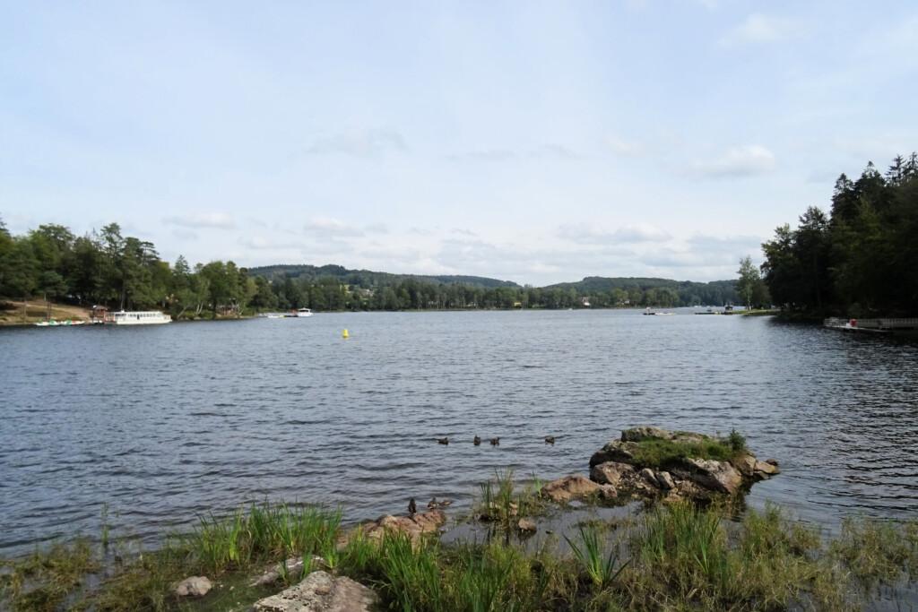 Lac des Settons Morvan Frankrijk