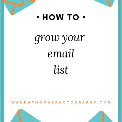 How to grow your email list.