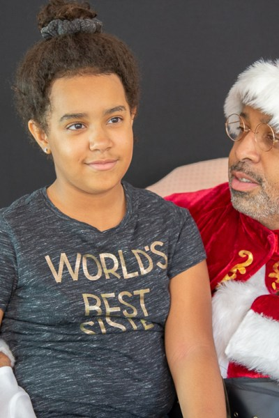 Santa of Color Photo sessions