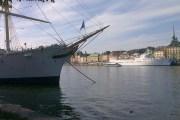Wandelen door Stockholm