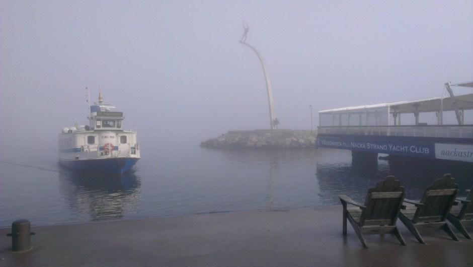 boot naar Stockholm centrum