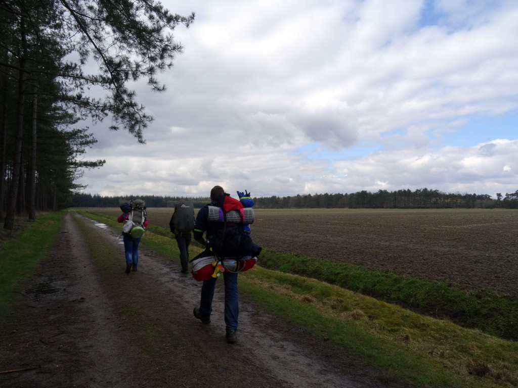 GPS-hike HIT Alphen lopen