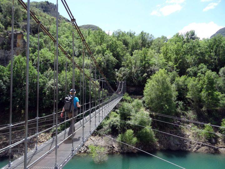 Wandelen Mont-rebei kloof catalonië 2