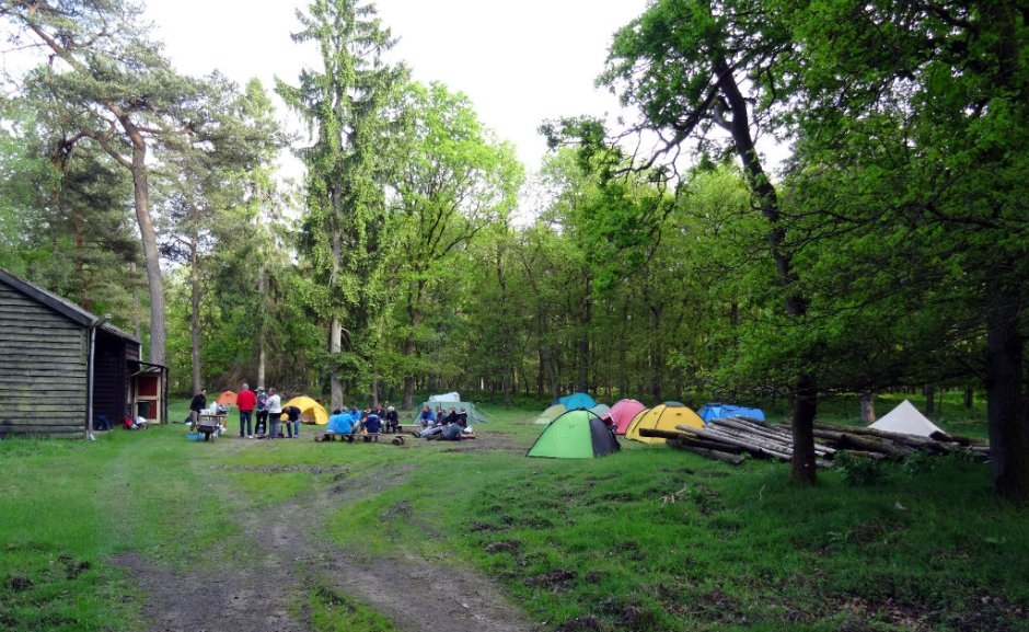 Eindeloze Veluwetocht kamp Imbosch
