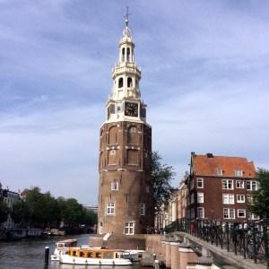 Kunstroute Amsterdam Montelbaanstoren