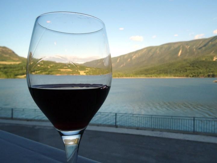 Wijn bij Hotel Terradets Catalonië dag 1