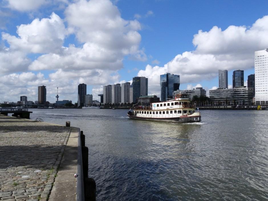 Maas - Rotterdam Stadswandeling