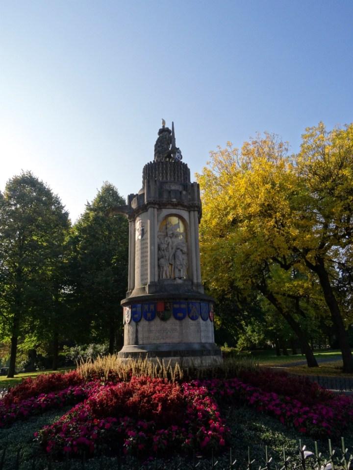 Monument - NS Wandeling Mastbos - kopie