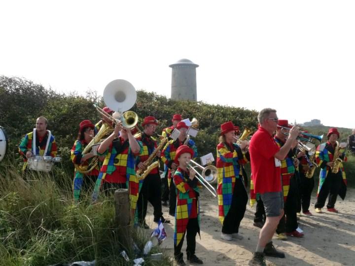Wandel Kustmarathon Zeeland blazers