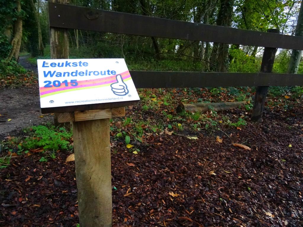 Leukste wandelroute van Midden-Nederland 2015 - Kromme Rijnpad