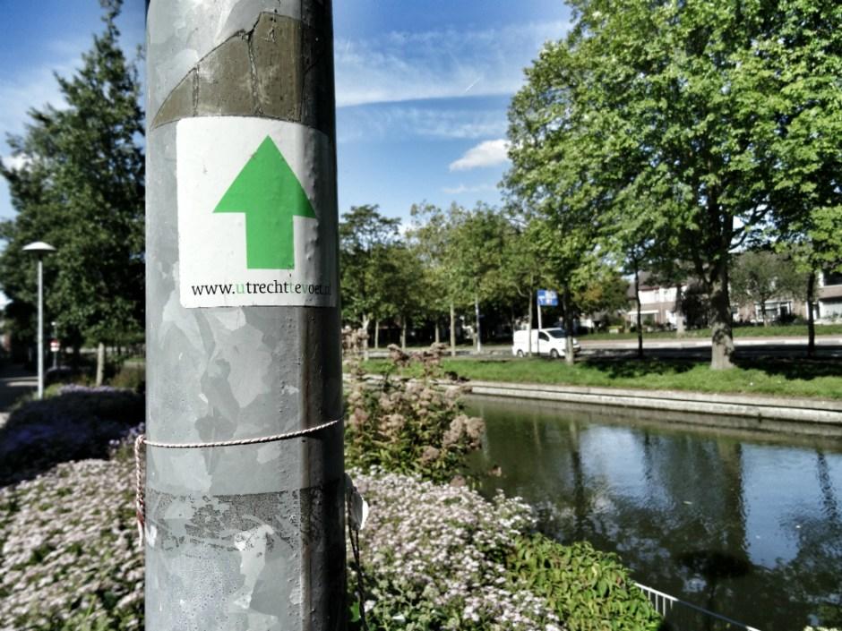 Langs de Kromme Rijn wandel je Utrecht binnen