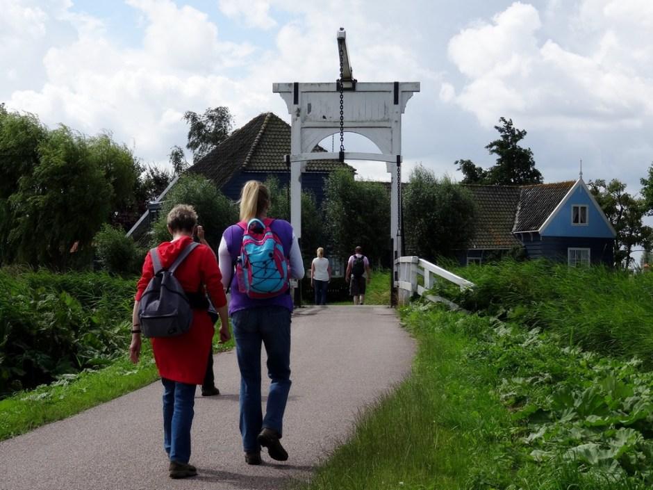 Brug Waterlandse Poldertocht Laag Holland
