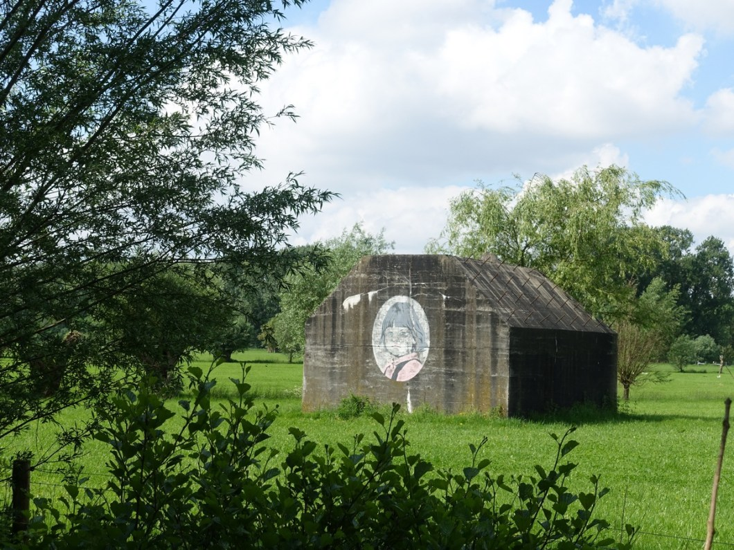 Bunkers langs Groene Wissel Utrecht Lunetten