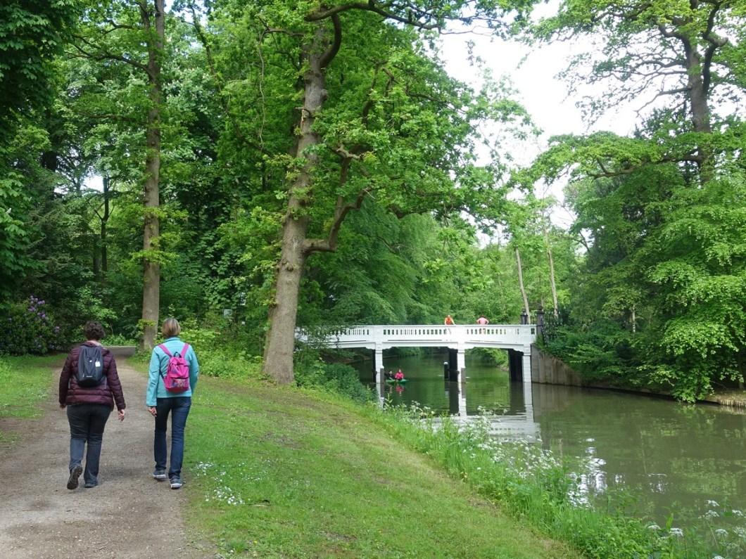 Groene Wissel Utrecht Lunetten wandelen