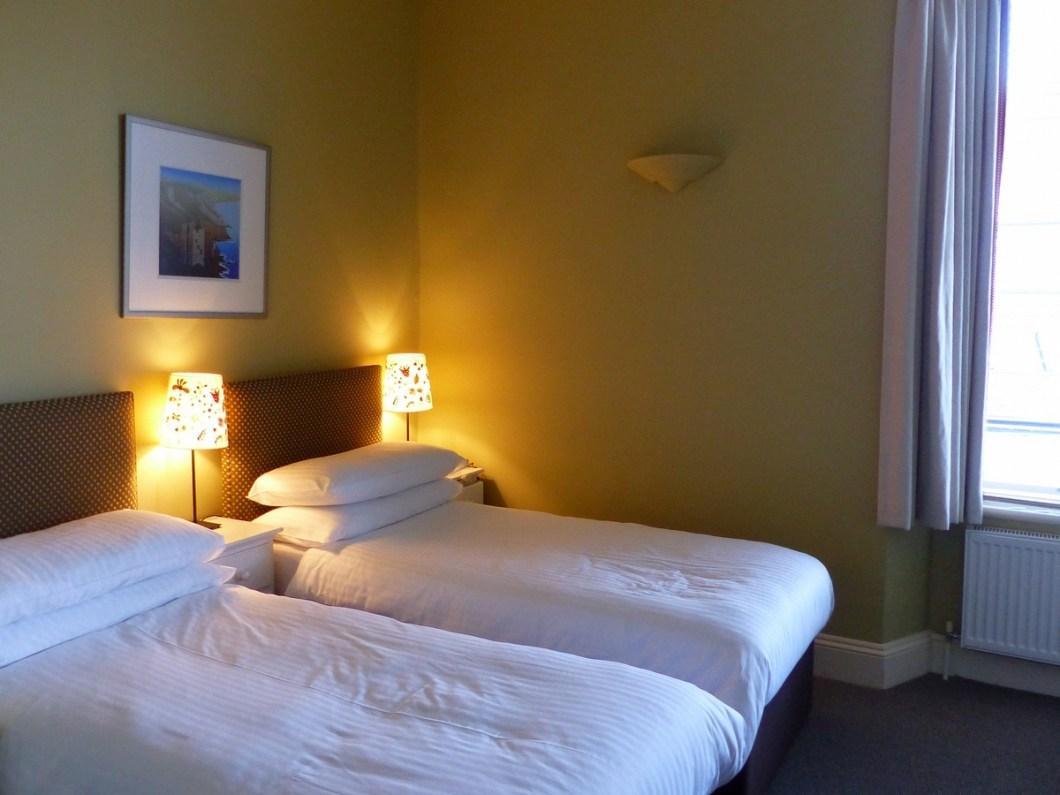 Hotelkamer Godolphin Arms
